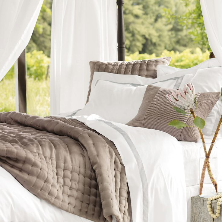 Montebello Bed Linen Collection - Bed Linen | The White Company