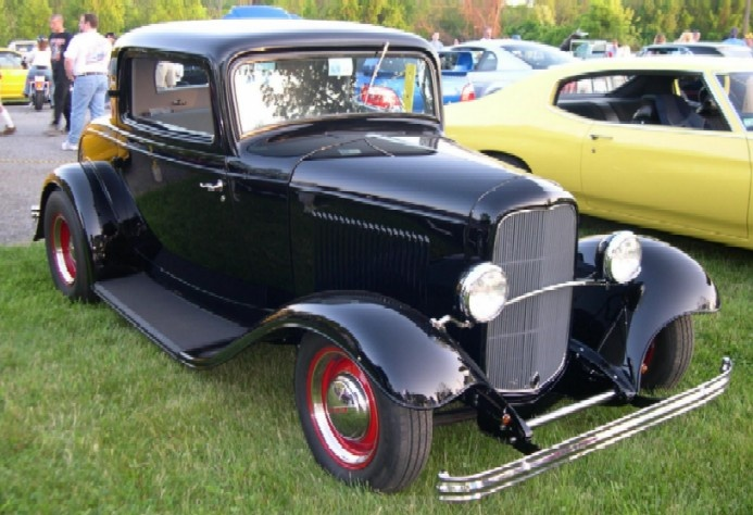 Between the years of 1932 and 35, the Ford Company produced Model B cars.