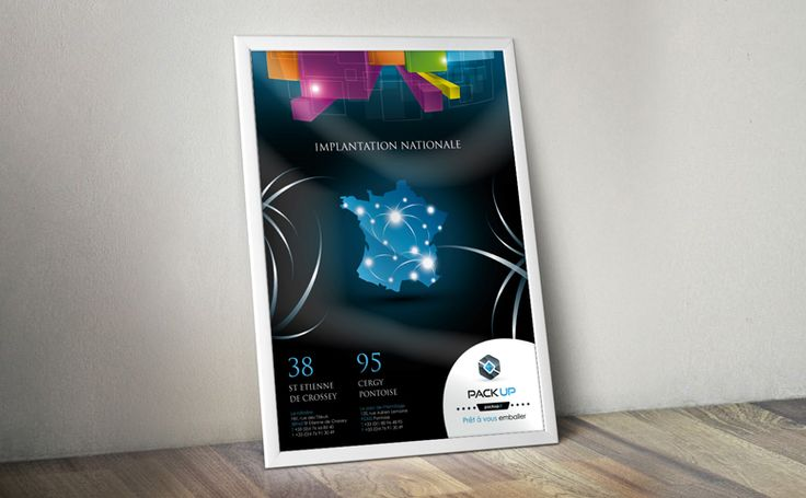 Identité visuelle sur une affiche pour un salon #posters #events #design #graphique