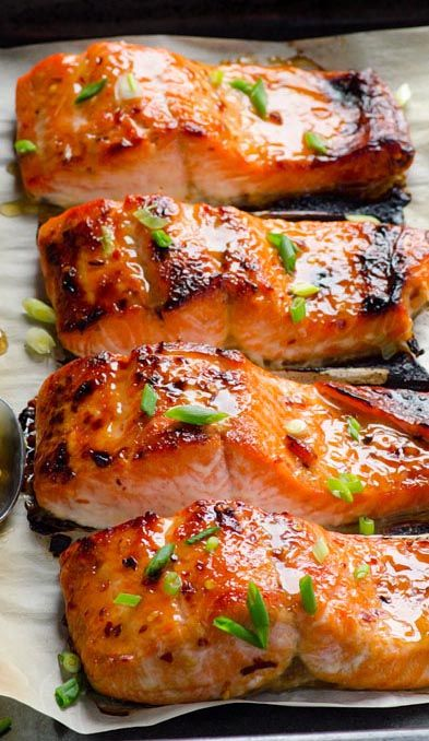 Clean Eating Baked Thai Salmon Recipe | Asian Cooking