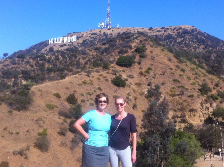 '15 Hollywood hills hike, met Donna Smallin