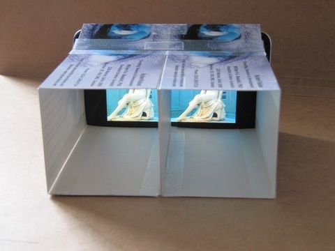 3D with iPhone & iPod touch?! | Display Technology | KyberVision Japan LLC