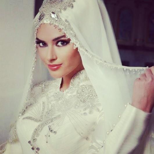 Hijaab bride