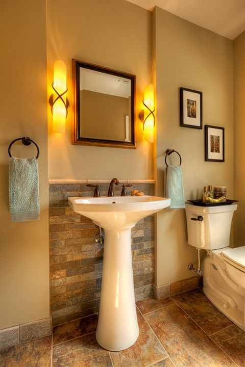 10 best Traditional Powder Room images on Pinterest | Bathroom ...