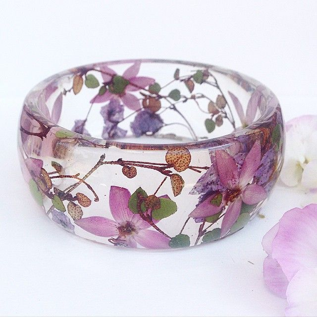 """culturenlifestyle: """"Stunning Handmade Resin Jewelry Showcases Exotic & Native Australian Flowers Artist and owner of Ocean Petals Art Studio, Jasenka decided to leave behind her professional career as..."""