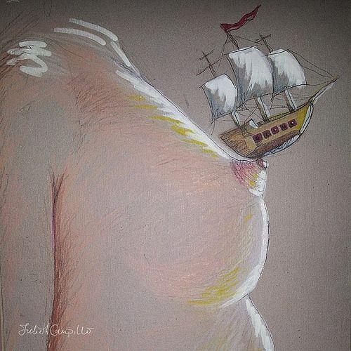 tus olas #illustration #draw #drawing #handmade #pirate