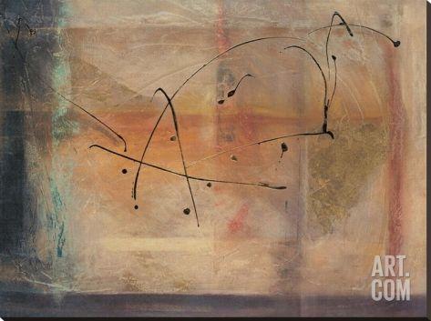 "Cross Road I Stretched Canvas Print by Kati Roberts at Art.com  54""x40"""