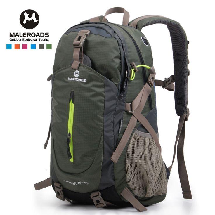 Maleroads viajan mochila casual mochila de calidad superior mountainn-climb campamento caminata trekking mochila para hombres mujeres hombres mujeres 40L