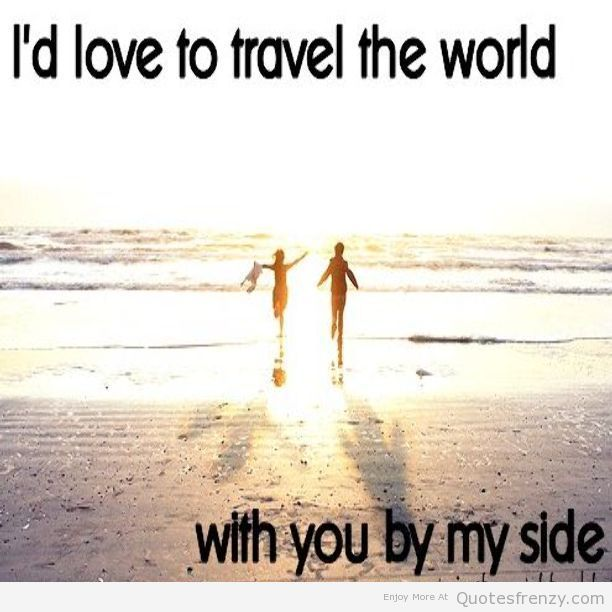 Love Adventure With You Quotes