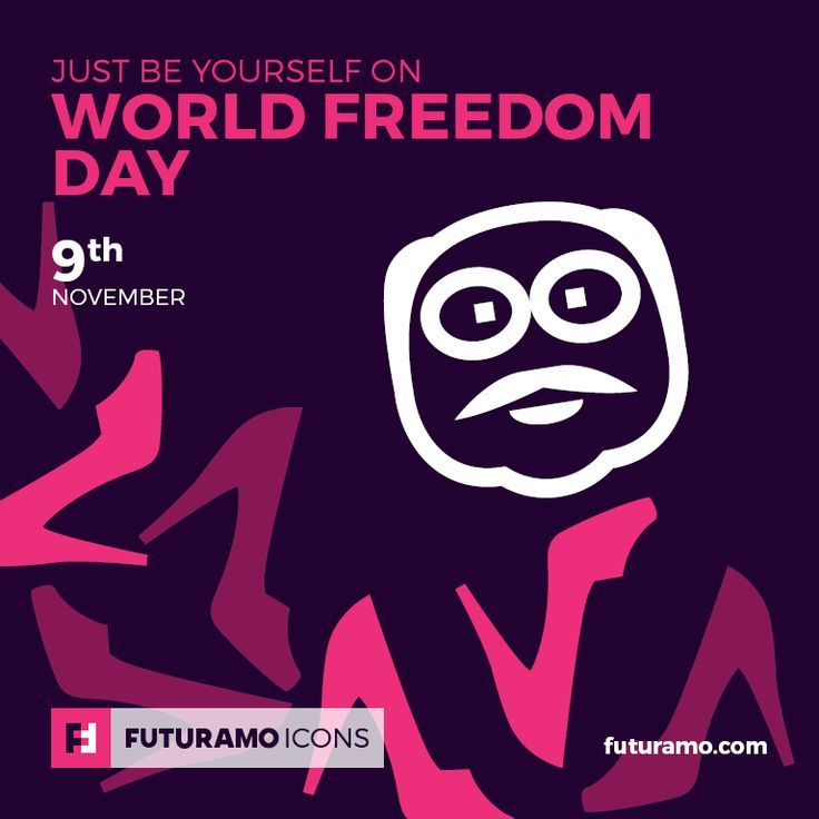 Just be yourself on World Freedom Day! All ‪#‎icons‬ used in the series are available in our App. Imagine what YOU could create with them! Check out our FUTURAMO ICONS – a perfect tool for designers & developers on futuramo.com icondesign  #icons  #iconsystem  #pixel #pixelperfect  #flatdesign  #ux  #ui  #uidesign  #design #developer  #webdesign  #app  #appdesign #graphicdesign