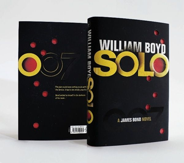 Latest 'James Bond' Book Gets Bullet Holes In Cover Design