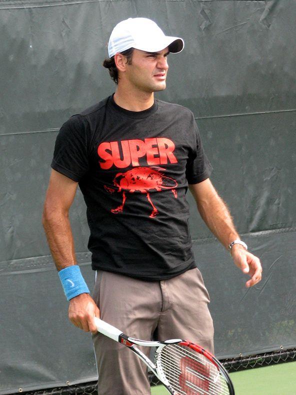 Roger Federer 'Super Fly' T-shirt #Summer #Fashion #Tennis