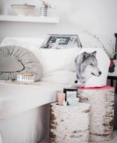 DIY hout nachtkastje - Not on Tuesday