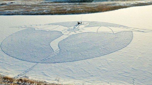 Этот художник целыми днями топчет Сибирь - Путешествуем вместе