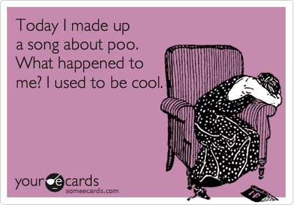 This is a true story (except the bit where I used to be cool ... ) #parenting #quotes