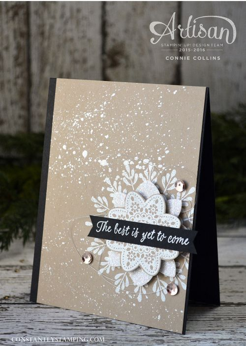 Card designed by Artisan Design Team member, Connie Collins