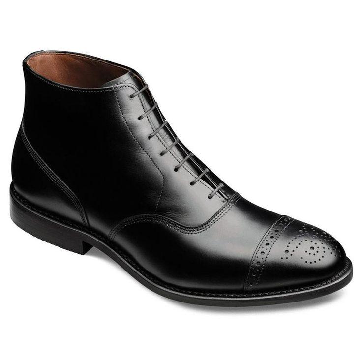 Black Oxford  - Men's Winter Dress Boots from Allen Edmonds - Alpha Male Style Menswear and Grooming