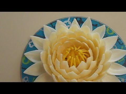 Украшения из шоколада – цветок лотоса. Видео | Рецепты тортов, пошаговое приготовление с фото