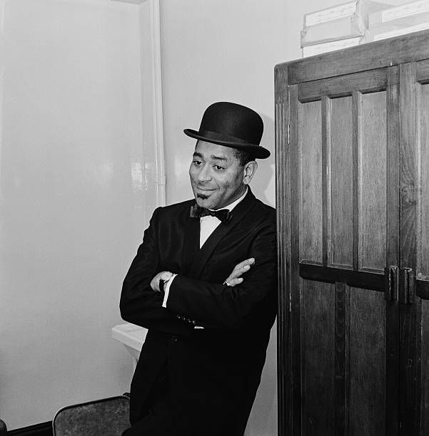 American jazz trumpeter and bandleader Dizzy Gillespie (1917 - 1993), circa 1960.