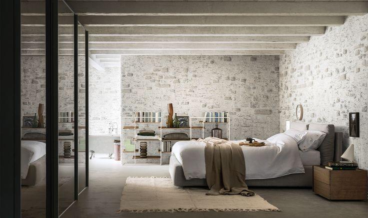 Da un'idea dei due designer di CO³ Design Studio nasce #Milano, letto originale e confortevole, per un riposodi livello. http://www.alfdafre.it/it/prodotto/160.aspx