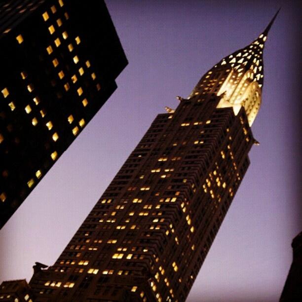 クライスラービル ニューヨークにあるマンハッタンを代表するビルのひとつ。 - @his_japan- #webstagram