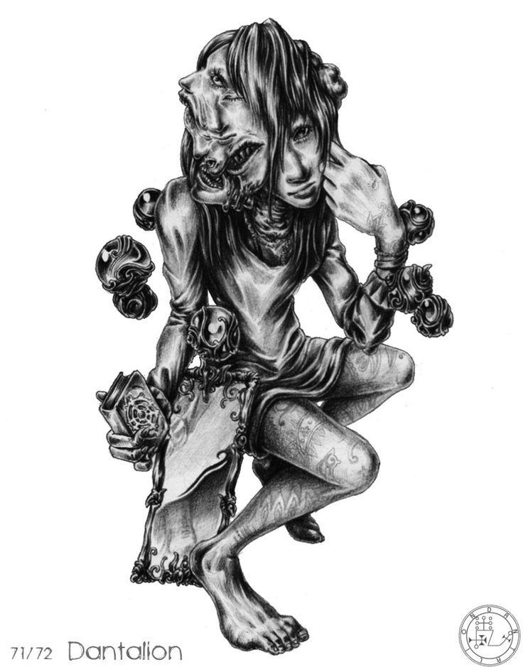 Hermetic Magic & Occult - Goetia Demons - Goetia Démonok
