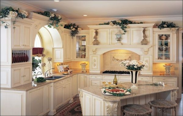 Small Old World Style Kitchens Old World Kitchen Cabinets White