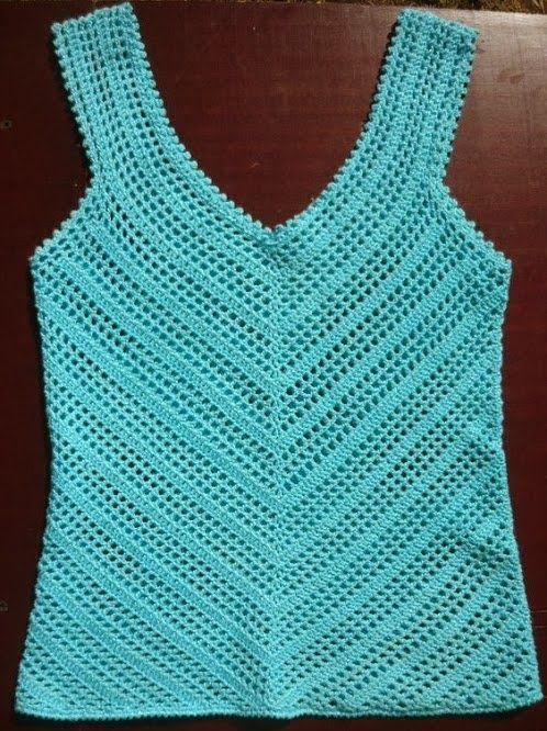 Cardigan Em Croche Com Grafico 81