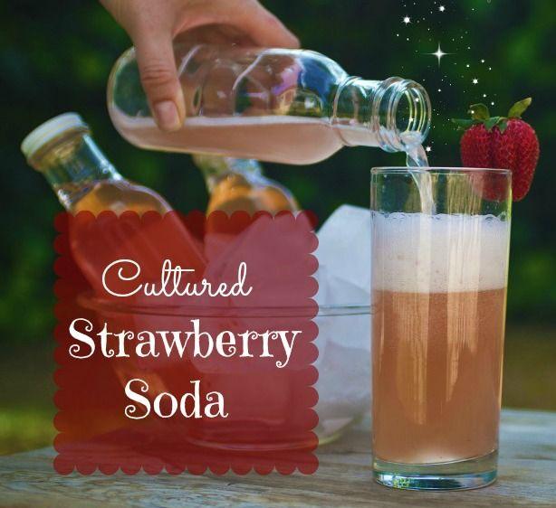 Cultured Strawberry Soda