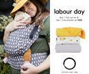 Which will YOU chose? This Monday, September 4th, grab a Tula Carrier & get a Tula Blanket Set... FREE! ✨ Visit: littlezenone.com/collections/tula-baby-carriers  * Valid only on Labour Day, September 4th, 2017.  ** If any items are pre-order, the entire order will be fulfilled when in-stock.  *** Sales are final. Happy Babywearing! xo Little Zen One