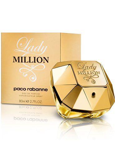 Lady Million de Paco Rabanne - Tienda de regalos, perfumes para mujer, lociones para hombre, joyería - turegalomejor.com #carolinaherreraperfumes #carolinaherrera #perfumes #peru