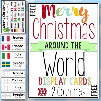 how to say merry christmas in different countries