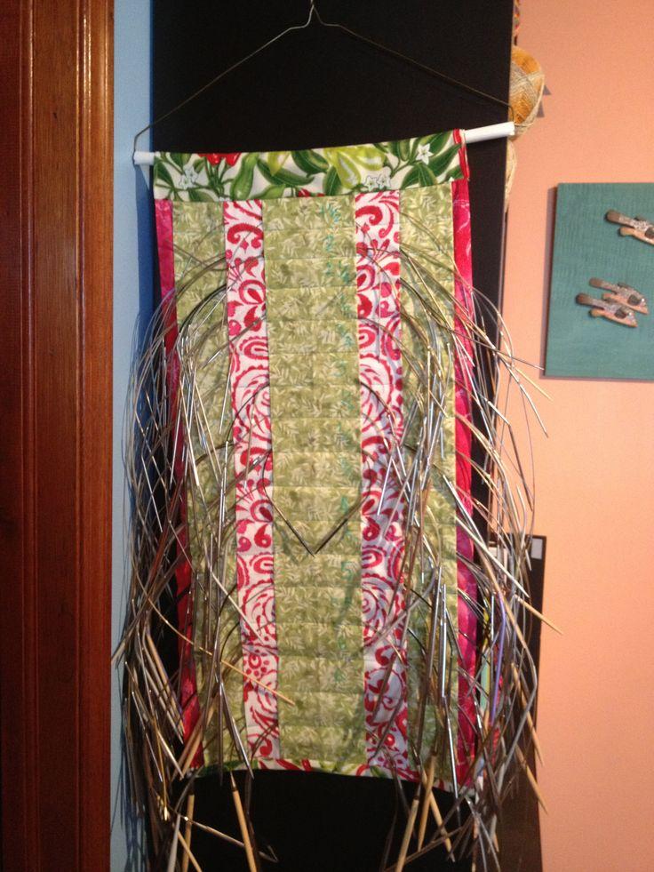 Knitting Needle Storage : Best 世界で見つけた輪針の収納ケース images on pinterest circular