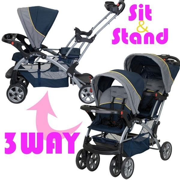 Baby Trend Sit N Stand Double Stroller Pistachio: 25+ Best Ideas About Double Strollers On Pinterest