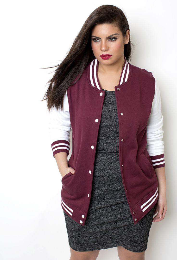 "PA Varsity ""Letterman"" Jacket - Shop Women's Missy & Plus Size Clothing I WANT THE PINK ONE"