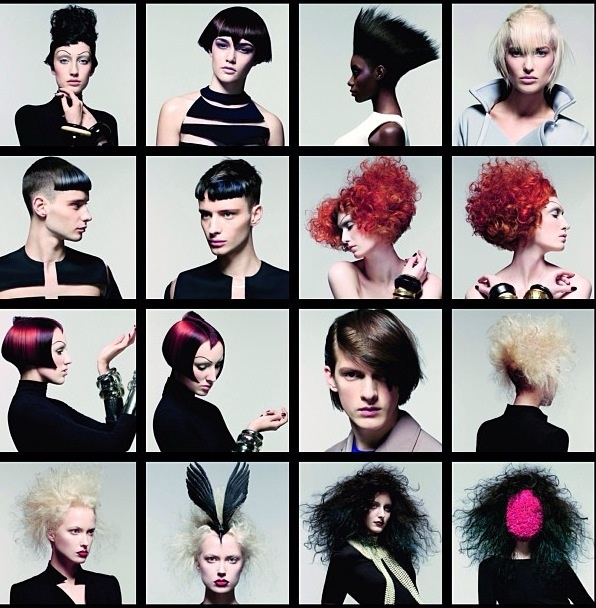 Sassoon Academy's Muses Collection 2013
