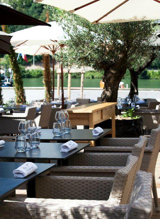 Terrasse Restaurant Lyon : 1000+ images about Les terrasses Au bord de l u0026#39;eau on