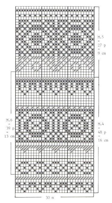 DROPS 62-22 - DROPS trøje i Camelia med nordisk mønster i Cotton Viscose og Silke-Tweed. Halstørklæde i Puddel. - Free pattern by DROPS Design