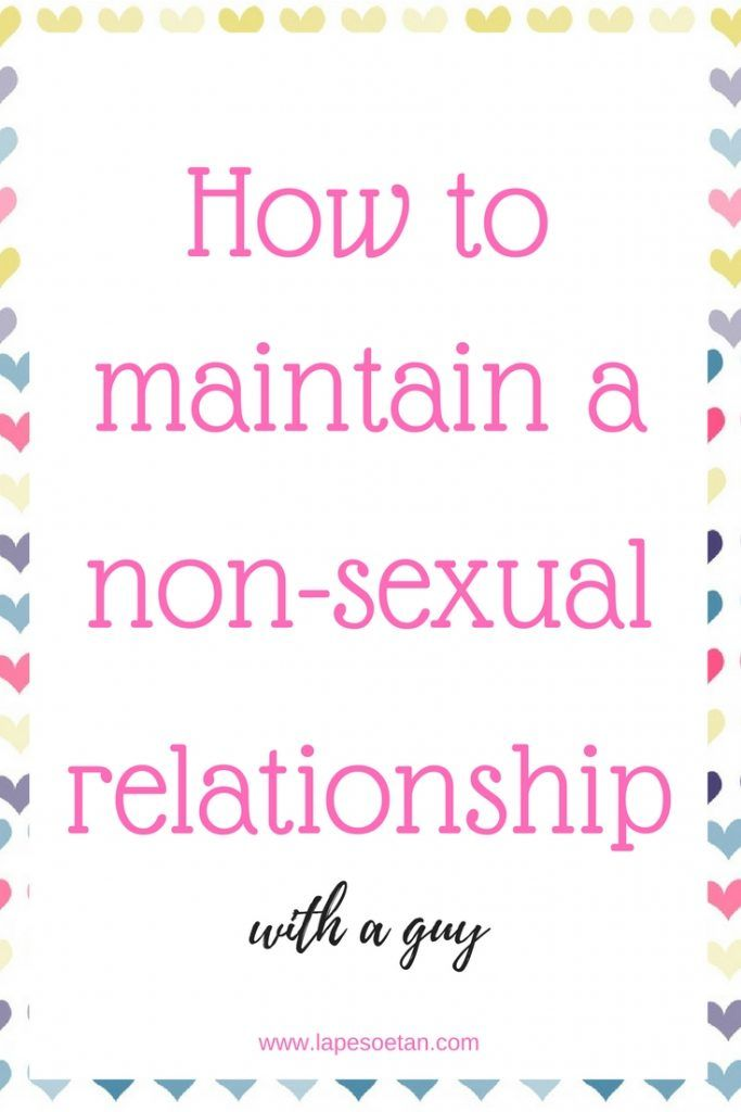 How to have a sexual relationship
