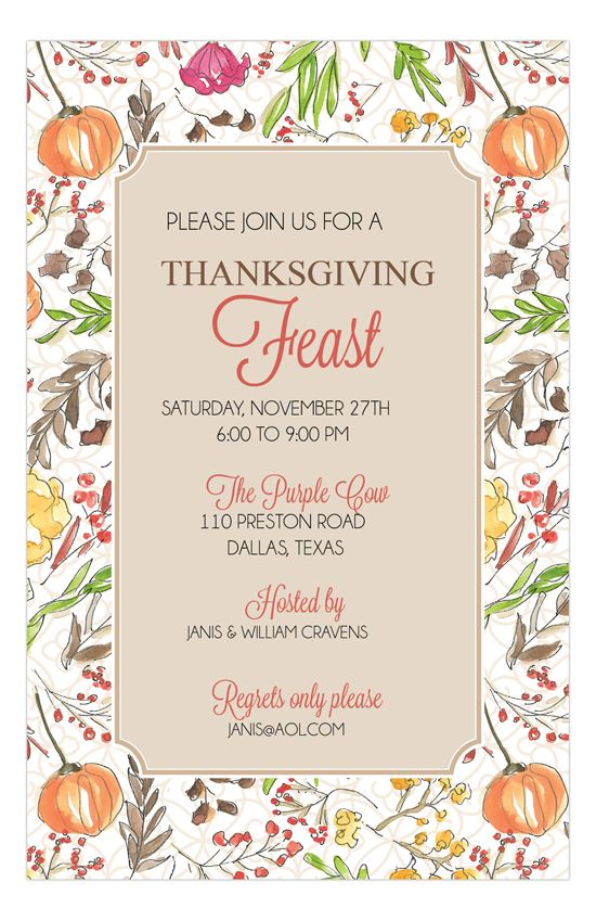 64 best Fall Party Invitations images on Pinterest Fall party