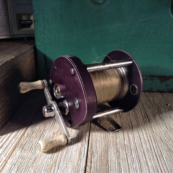 Langley Speedy 510, Vintage Fishing Reel, Bait Casting Reel, Langley Reels, 1950s Fishing Supplies, Bait and Tackle, Old Collectible Reels,