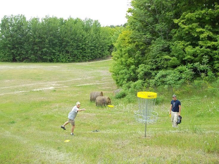 Discover a new talent at Hardwood Ski and Bike! #DiscGolf
