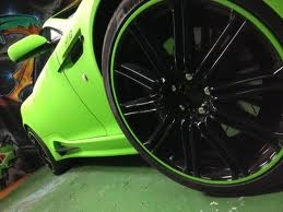 aston martin db9, diamond lime green wrap,exterior side details, wheels and side body from dartz mansory, roogio.com: Wraps Exterior Side, Limes Green, Lime Green, Aston Martin, Green Wraps Exterior, Diamonds Limes