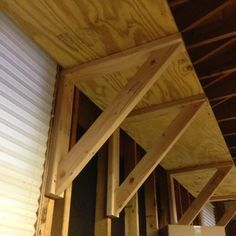 """Large Heavy Duty shelf brackets. DIY and easy to make. These are 24"""" Brackets, check them out on instructables."""