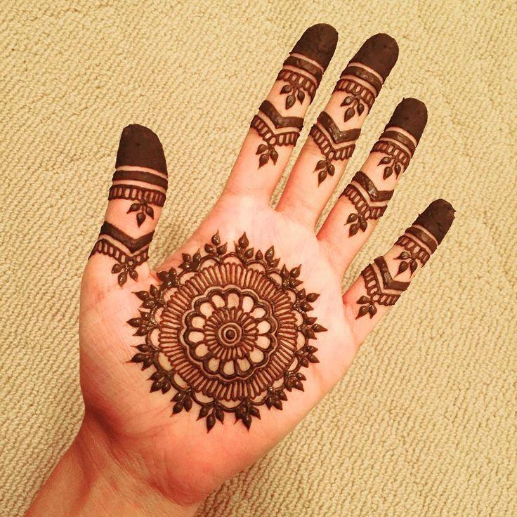125  New Simple Mehndi/Henna Designs for Hands - Buzzpk