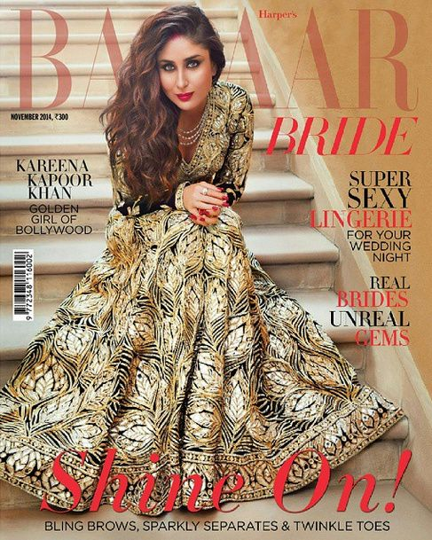 Kareena Kapoor covers Harper's Bazaar Bride in Abu - Sandeep