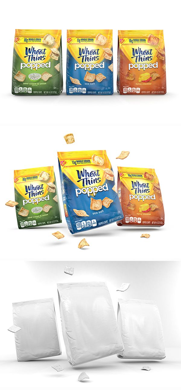Wheat Thins Popped on Behance