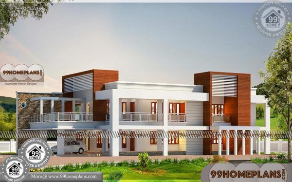 Beautiful Kerala House Plans 85 Modern Two Storey Homes Collections House Plans Kerala Houses House Plans With Pictures