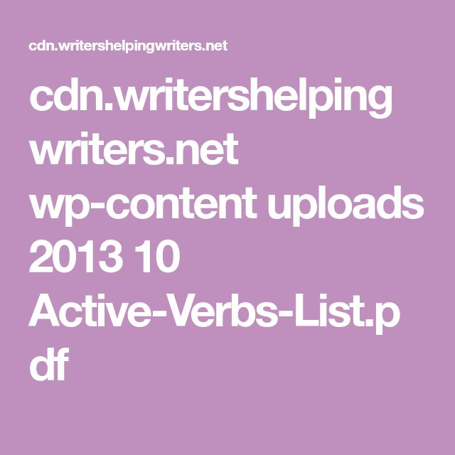 list of all verbs in english language pdf