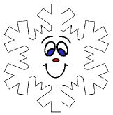 """""""Five Little Snowflakes"""" (Perfect rhyme for children to act out!)"""